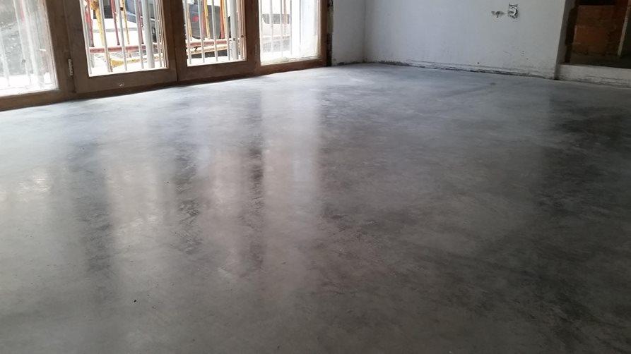pavimento antibacteriano pulido con litio